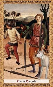 Five of Swords (пятерка мечей) Misw05